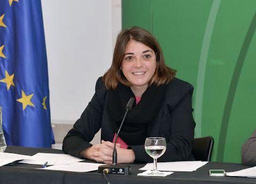 Elena Cortés, consejera de Fomento y Vivienda de la Junta de Andalucía