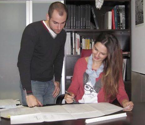 Jesús Sánchez Cuadrado y Lorena Marruecos