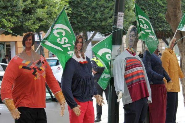 Protesta CSIF