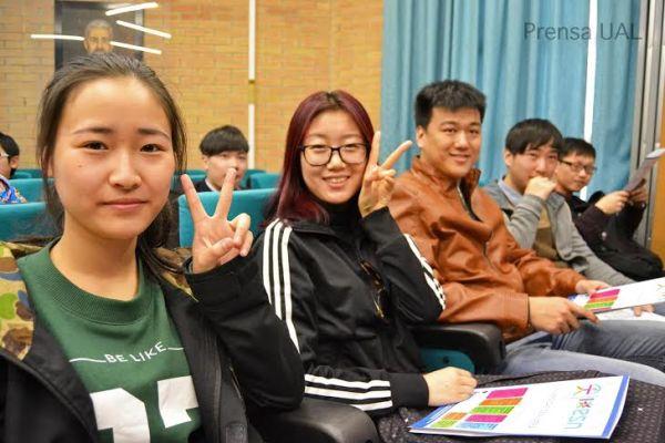 Delegación chinos UAL