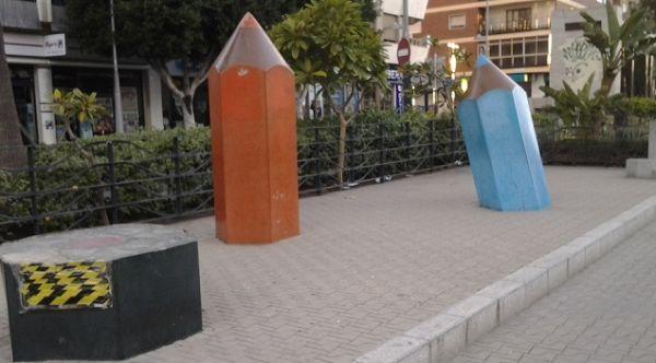 Los lápices Almería