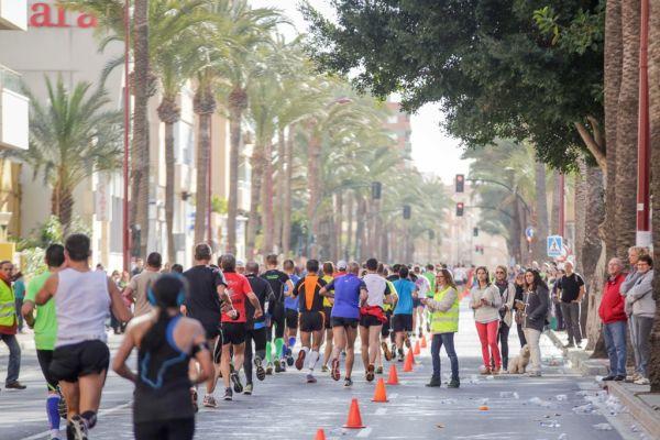 Media maratón Almería pasada edicion