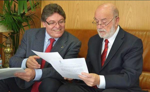 Rogelio Mena y Pedro Molina