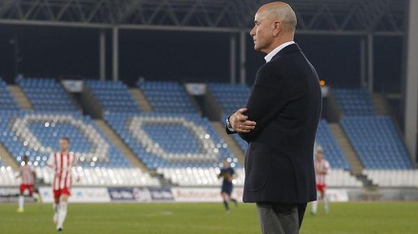 Miguel Rivera, entrenador del Almería B