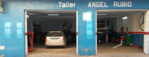 Taller de Ángel Rubio, en El Ejido