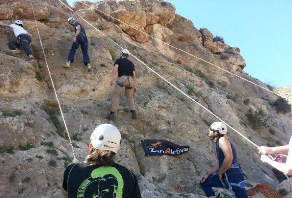Curso de escalada