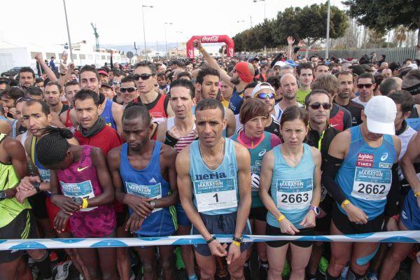 Medio Maratón 15, salida