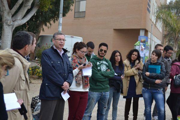 Asamblea abierta UAL, De las Nieves