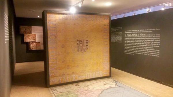 Pergamino firmado por los Reyes Católicos expuesto en el Museo de Almería