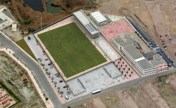 La construcción del polideportivo de Las Marinas llega a la Fiscalía de Almería por invadir espacio protegido de Punta Entinas