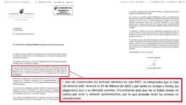 RFEF Almería