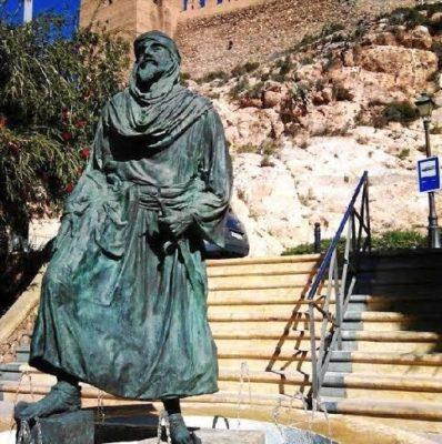 Estatua del Rey Jairán