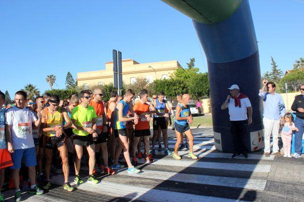 Salida Media Maratón Hortalizas El Ejido