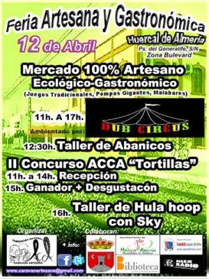 Cartel de la II Feria de Caravana Artesana