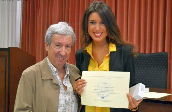 , Javier García González, con Marina Asián Caparrós