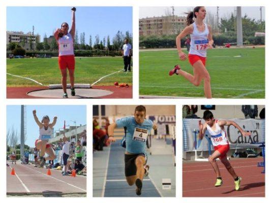 Repoker de ases de la EDM ''Atletas de Almería''
