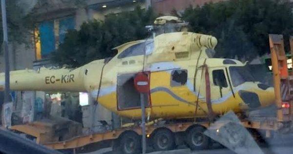 Traslado helicóptero