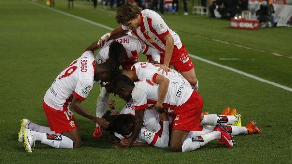 UD Almería, celebración
