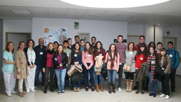 Visita estudiantes a La Inmaculada