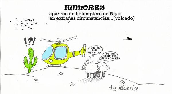 viñeta de alex helicóptero