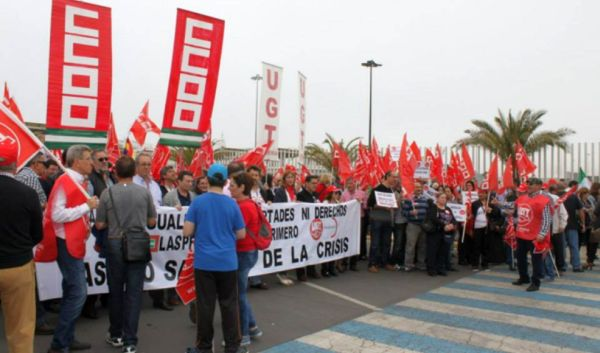 """UGT y CCOO marcharán juntos el 1 de Mayo en Almería por """"Empleo estable y salarios justos"""""""