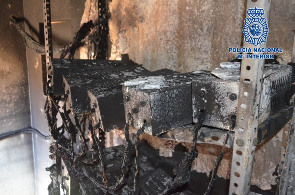 contador quemado