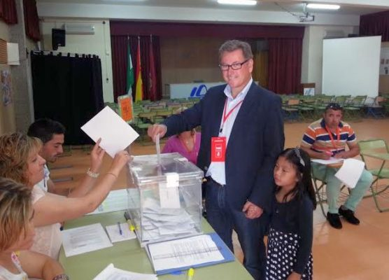 Antonio López Olmo, candidato del PSOE a la alcaldía de Huércal-Overa