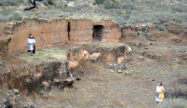 Anfiteatro de Villavieja en Berja
