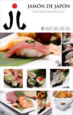 Cartel de Jamón de Japón