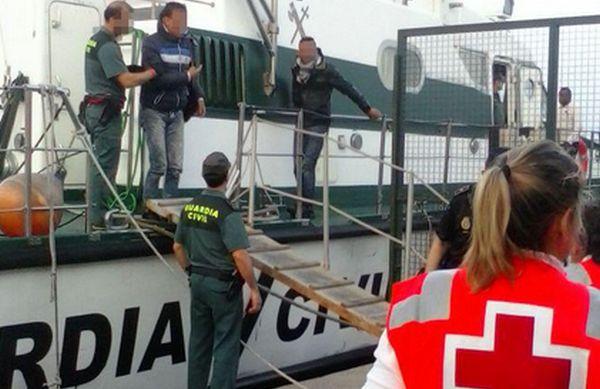 Cruz Roja en el Puerto