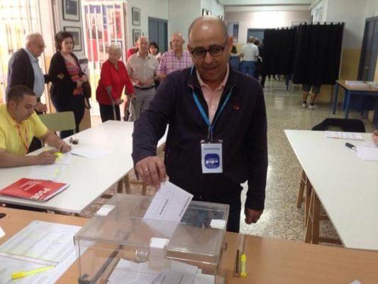 Domingo Fernández, candidato Huércal-Overa por el PP
