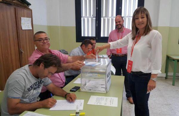 Esperanza Pérez, candidata del PSOE a la alcaldía de Níjar