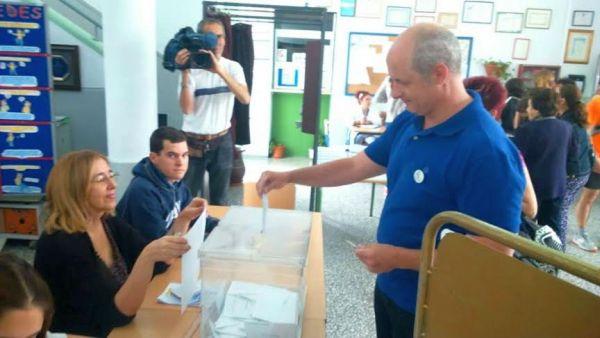 Fernando Plaza, candidato de Ahora Almería