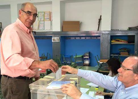 Francisco Fernández, candidato de UPyD en El Ejido
