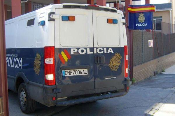 Furgón de la policía