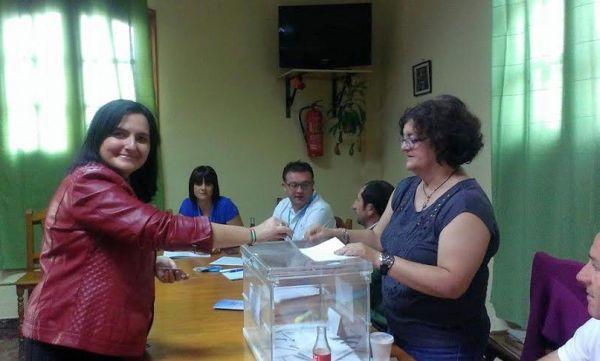 Isabel Arévalo, candidata del PSOE de Berja