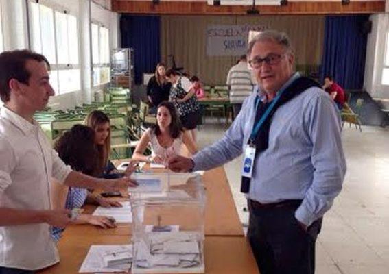 Jesús Caicedo, candidato a la alcaldía de Cuevas del Almanzora por el PP