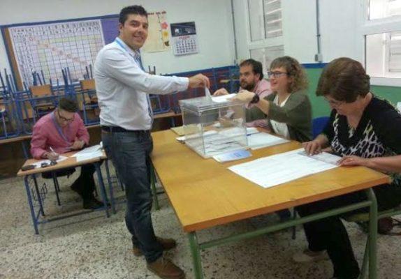 Jorge Gutiérrez, candidato del PP en Dalías