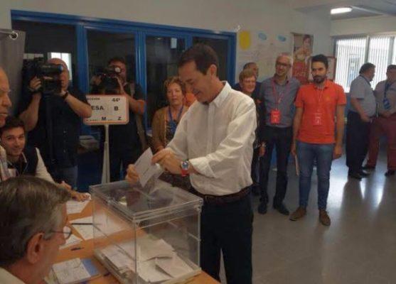 Juan Carlos Pérez Navas, candidato por el PSOE en Almería