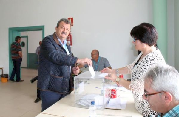 Juan Pedro García, candidato del PP en Pulpí