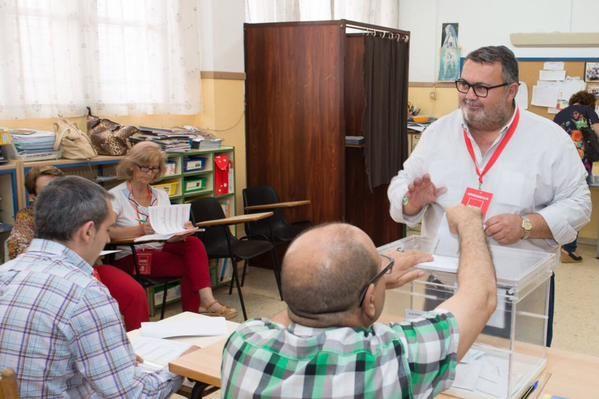 Manolo García, candidato del PSOE a la alcaldía de Roquetas de Mar