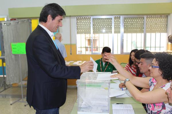 Manuel Cortés, candidato del PP en Adra