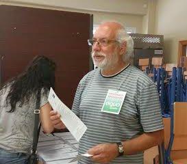 Manuel Pérez Sola, candidato de Equo en Almería