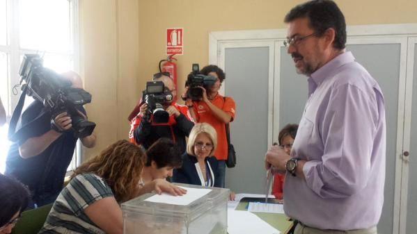 Rafael Esteban, candidato IU Almería