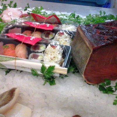 Sushi Jamón de Japón