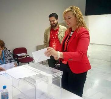 Teresa Piqueras, candidata del PSOE en Adra