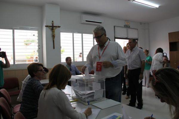 Tomás Elorrieta, candidato del PSOE en El Ejido