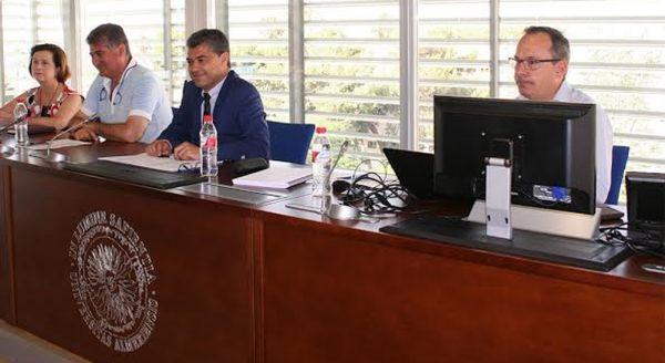 Carmelo Rodríguez ha presidido la primera reunión del Consejo de Gobierno