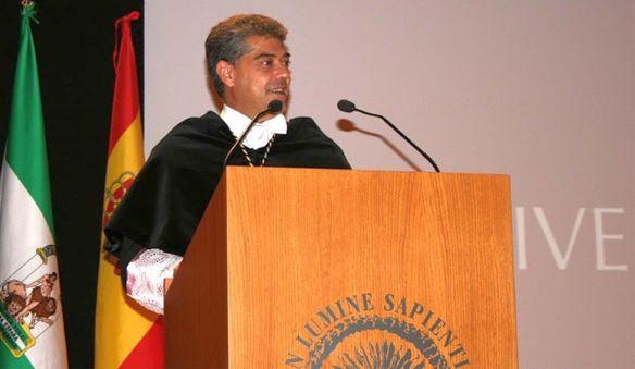 Carmelo Rodríguez, rector de la UAL