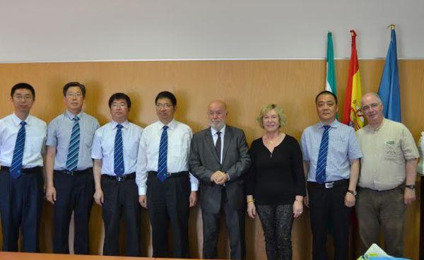 Convenio UAL con Univ China